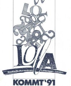 Plakat LOLA kommt 1991